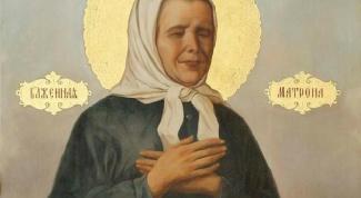 Где находится икона Святой Матроны