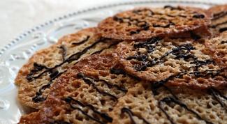 Как приготовить флорентийское печенье