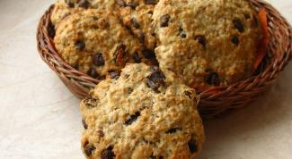 Как приготовить овсяно-шоколадное печенье