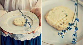 Как приготовить шотландское печенье с лавандой