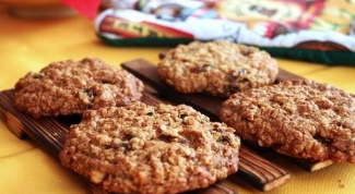 Как приготовить овсяное печенье на кипятке