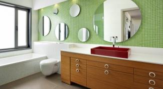 Как мыть и ухаживать за зеркалом