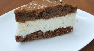 Как приготовить шоколадно-кокосовый торт