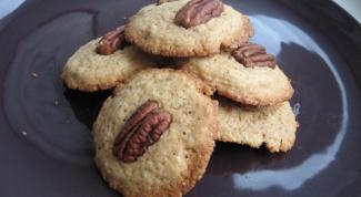 Как приготовить печенье с апельсинами и орехами пекан