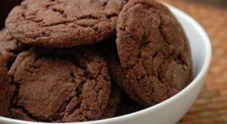 Как приготовить шоколадно-ореховое печенье