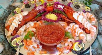 Здоровое питание. Оценка морепродуктов