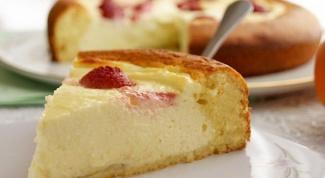 Как сделать вкусный творожный пирог