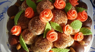 Пирожное «Цветик-семицветик»