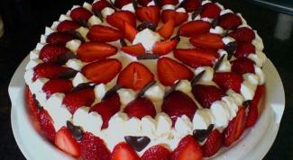 Классический рецепт клубничного торта