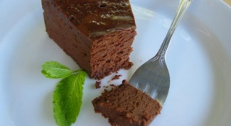 Шоколадный пирог на майонезе