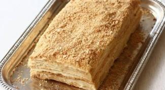Торт «Слойка в молочном меду»