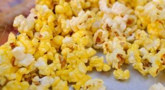 Как сделать острый попкорн дома