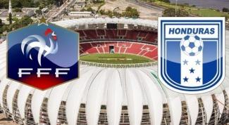 ЧМ 2014 по футболу: как Франция разобралась с Гондурасом