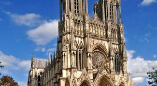 Особенности собора Нотр-Дам в Реймсе