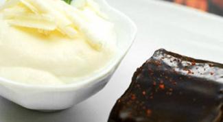 Готовим мятно-шоколадный мусс