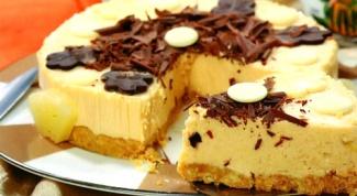Торт ананасово-карамельный