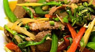 Как приготовить говядину по-тайски с манго