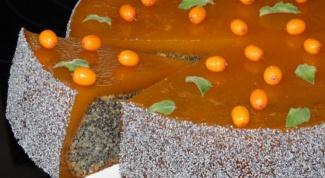Маково-ореховый торт в мультиварке