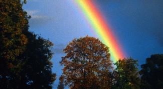 Как сделать искусственную радугу в домашних условиях