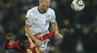 ЧМ 2014 по футболу: как проходил матч Гана - США