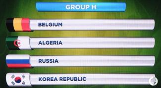 Бельгия - Алжир: как стартовали соперники России на мундиале