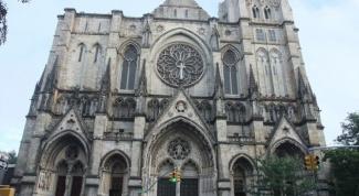 Епископальный собор Иоанна Богослова в Нью-Йорке: интересные факты