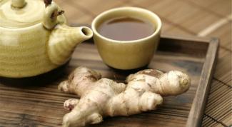 Как приготовить имбирный чай для желающих похудеть