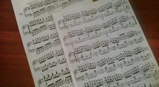 Как записать мелодию на ноты