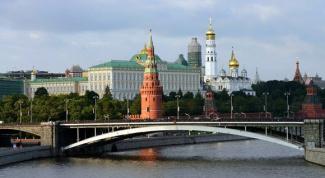 Самые известные мосты Москвы