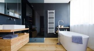 Как подобрать пол к плитке в ванной