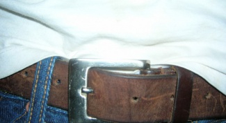 How to distinguish leather belt