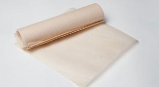 Как использовать пергамент в духовке