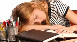 Как выспаться перед экзаменом