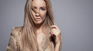 Как убрать желтизну волос после мелирования