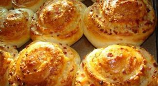 Как приготовить сырные булочки