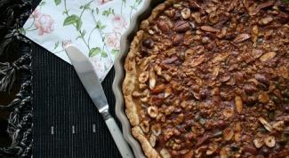 Как приготовить ореховую тарталетку?