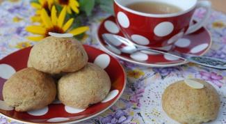 Как приготовить овсяное печенье с творожной начинкой