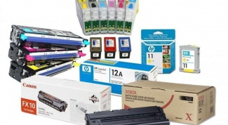 How to change the ink cartridge in the printer