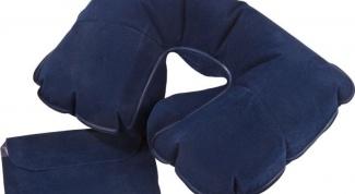 Где можно купить надувную подушку на шею