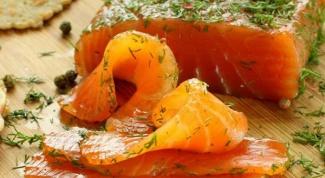 Рецепт слабосоленой форели