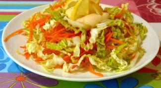 Рецепты салатов с китайской капустой