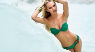 Как выбрать купальник зеленого цвета
