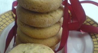 Как приготовить мятное печенье