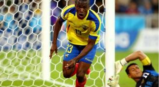 ЧМ 2014 по футболу: как проходил матч Гондурас - Эквадор