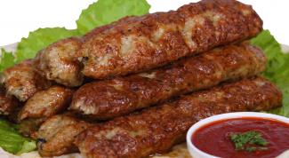 Как приготовить люля-кебаб: кулинарные советы
