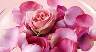 Как приготовить розовую пену для ванны