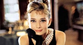 Прическа Одри Хепберн из фильма «Завтрак у Тиффани»