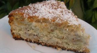 Миндально-кокосовый кекс с фейхоа