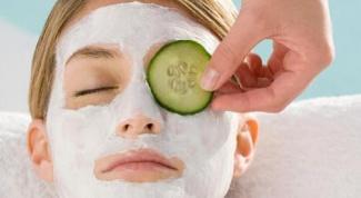 Творожные питательные маски
