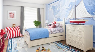 Морской интерьер в детской комнате: особенности оформления